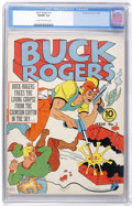 Golden Age (1938-1955):Science Fiction, Buck Rogers #3 (Eastern Color, 1941) CGC VG/FN 5.0 Cream tooff-white pages....