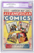 Golden Age (1938-1955):Miscellaneous, All-American Comics #5 (DC, 1939) CGC Apparent NM- 9.2 Extensive (P) Cream to off-white pages....