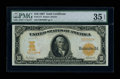 Large Size:Gold Certificates, Fr. 1171 $10 1907 Gold Certificate PMG Choice Very Fine 35 EPQ....