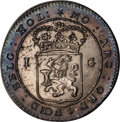 Netherlands East Indies, Netherlands East Indies: Batavian Republic. Clipper Ship Set1802,... (Total: 5 coins)
