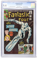Silver Age (1956-1969):Superhero, Fantastic Four #50 (Marvel, 1966) CGC NM 9.4 Off-white to whitepages....
