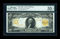 Large Size:Gold Certificates, Fr. 1185 $20 1906 Gold Certificate PMG About Uncirculated 55EPQ....