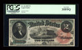 Large Size:Legal Tender Notes, Fr. 42 $2 1869 Legal Tender PCGS Very Fine 35PPQ....