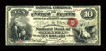 National Bank Notes:Colorado, Denver, CO - $10 Original Fr. 412 The Colorado NB Ch. # 1651. ...