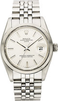 Timepieces:Wristwatch, Rolex Men's Stainless Steel Oyster Perpetual Date Wristwatch, circa1978 . ...