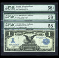 Large Size:Group Lots, Black Eagle Triumvirate.. ... (Total: 3 notes)