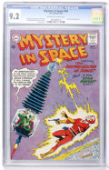 Silver Age (1956-1969):Science Fiction, Mystery in Space #83 (DC, 1963) CGC NM- 9.2 Off-white to whitepages....