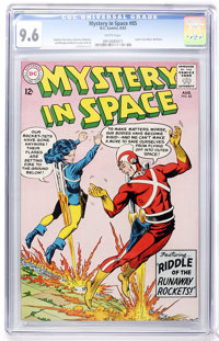 Mystery in Space #85 (DC, 1963) CGC NM+ 9.6 White pages