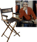 "Movie/TV Memorabilia:Memorabilia, Glenn Ford's ""Great Westerner"" Director's Chair...."
