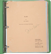 Teri Garr's Signed and Annotated Mr. Mom Script