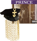 "Music Memorabilia:Costumes, Prince's Hat from ""My Name is Prince"" Video and CD Cover.... (Total: 2 Items)"