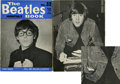 Music Memorabilia:Autographs and Signed Items, John Lennon Signed Beatles Monthly Magazine.... (Total: 2 Items)