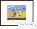 Music Memorabilia:Original Art, Beatles Related - Paul McCartney Egypt Station LimitedEdition Lithograph....