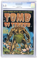Golden Age (1938-1955):Horror, Tomb of Terror #1 File Copy (Harvey, 1952) CGC FN 6.0 Slightlybrittle pages....