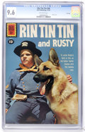 Silver Age (1956-1969):Adventure, Rin Tin Tin #38 File Copy (Dell, 1961) CGC NM+ 9.6 Off-white pages....