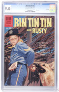 Silver Age (1956-1969):Adventure, Rin Tin Tin #37 File Copy (Dell, 1961) CGC VF/NM 9.0 Off-white to white pages....