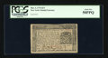 Colonial Notes:New York, New York March 5, 1776 $2/3 PCGS About New 50PPQ....