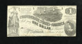 Confederate Notes:1862 Issues, T44 $1 1862. The cut for this note is pretty typical because therewas hardly any room between the notes on a sheet. Crisp...