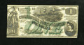 Confederate Notes:1862 Issues, CT45/342 $1 1862. This lithograph counterfeit is from the FirstSeries and has plate number 10. The signatures are printed, ...