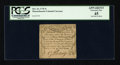 Colonial Notes:Massachusetts, Massachusetts October 16, 1778 3s PCGS Apparent Extremely Fine 45....