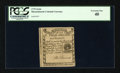 Colonial Notes:Massachusetts, Massachusetts 1779 3s6d PCGS Extremely Fine 40....