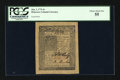 Colonial Notes:Delaware, Delaware January 1, 1776 4s PCGS Choice About New 55....