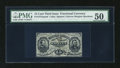 Fractional Currency:Third Issue, Fr. 1272sp 15c Third Issue Narrow Margin Face PMG About Uncirculated 50....