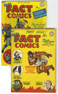 Golden Age (1938-1955):Non-Fiction, Real Fact Comics #1 and 10 Group (DC, 1946-47).... (Total: 2 ComicBooks)