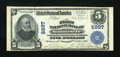 National Bank Notes:Pennsylvania, Montoursville, PA - $5 1902 Plain Back Fr. 598 The First NB Ch. # 6997. ...
