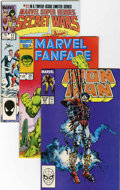 Modern Age (1980-Present):Miscellaneous, Marvel Modern Age Short Box Group (Marvel, 1980s) Condition: Average VF/NM....