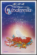 "Movie Posters:Animated, Cinderella (Buena Vista, R-1987). One Sheet (27"" X 41"") Advance. Animated...."
