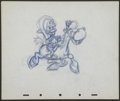 "Movie Posters:Animated, The Three Caballeros (RKO, 1944). Animation Drawing (10"" X 12"") ""Jose Carioca."" Animated...."