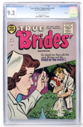Golden Age (1938-1955):Romance, True Brides' Experiences #15 File Copy (Harvey, 1955) CGC NM- 9.2 Cream to off-white pages....