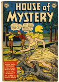 Golden Age (1938-1955):Horror, House of Mystery #1 (DC, 1952) Condition: VG....