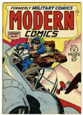 Golden Age (1938-1955):War, Modern Comics #57 (Quality, 1947) Condition: VG/FN....