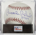 "Autographs:Baseballs, Brooks Robinson ""HOF 83"" Single Signed Baseball, PSA Gem Mint 10...."