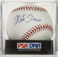 Autographs:Baseballs, Monte Irvin Single Signed Baseball, PSA Mint 9. ...