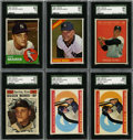 Baseball Cards:Lots, 1960-66 Topps Roger Maris SGC Graded Group Lot of 6.... (Total: 6cards)