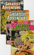 Silver Age (1956-1969):Adventure, My Greatest Adventure Group (DC, 1956-59) Condition: Average GD-.... (Total: 15 Comic Books)