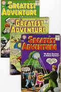 Silver Age (1956-1969):Adventure, My Greatest Adventure Group (DC, 1959-60) Condition: Average GD.... (Total: 9 Comic Books)