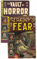Golden Age (1938-1955):Horror, EC Comics Golden Age Horror Group (EC, 1954) Condition: AverageGD.... (Total: 2 Comic Books)