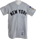 Autographs:Others, Early 1990's Mickey Mantle Signed Jersey....