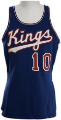 Basketball Collectibles:Uniforms, 1972-73 Nate Archibald Game Worn Jersey....