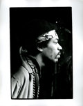 Music Memorabilia:Photos, Jimi Hendrix Photo by Ed Thrasher....