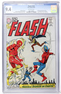 Silver Age (1956-1969):Superhero, The Flash #129 (DC, 1962) CGC NM 9.4 Off-white pages....