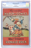 Golden Age (1938-1955):Cartoon Character, March of Comics #20 (K. K. Publications, Inc., 1948) CGC NM+ 9.6Off-white pages....