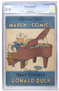 Golden Age (1938-1955):Funny Animal, March of Comics #41 (K. K. Publications, Inc., 1949) CGC VF 8.0Cream to off-white pages....
