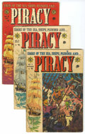 Golden Age (1938-1955):Adventure, Piracy Group (EC, 1954-55) Condition: Average GD.... (Total: 8 Comic Books)
