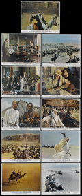 "Movie Posters:Academy Award Winner, Lawrence of Arabia (Columbia, 1962). Color Stills (11) (8"" X 10"").Academy Award Winner...."