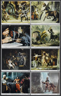"Movie Posters:Fantasy, The Golden Voyage of Sinbad (Columbia, 1973). Mini Lobby Card Set of 8 (8"" X 10""). Fantasy...."